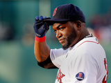 Boston, MA - April 25: David Ortiz Photographic Print