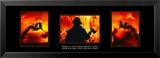Valor: Firefighter Triptych Kunstdrucke