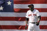 Boston, MA - June 9: Boston Red Sox v Los Angeles Angels of Anaheim, David Ortiz Photographic Print