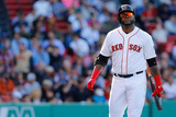 Boston, MA - April 24: David Ortiz Photographic Print