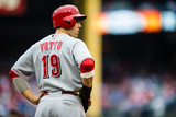 Philadelphia, PA - May 18: Joey Votto Photographic Print