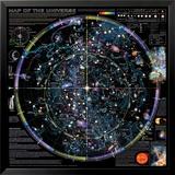Kaart van universum - ©Spaceshots Print