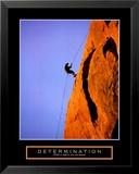 Determinación, en inglés, escalador Láminas