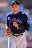 Denver, CO - June 09: Shortstop Troy Tulowitzki Photographic Print