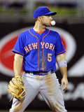 Philadelphia, PA - June 21: Third baseman David Wright Photographic Print