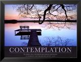 Kontemplacja Plakaty