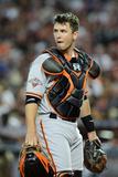 Phoenix, AZ - June 07: Catcher Buster Posey Lámina fotográfica