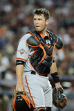 Phoenix, AZ - June 07: San Francisco Giants v Arizona Cardinals, Catcher Buster Posey Photographic Print