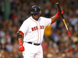Boston, MA - June 6: David Ortiz Photographic Print
