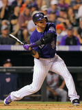 Denver, CO - June 11: Troy Tulowitzki Photographic Print