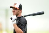 Baltimore, MD - August 27: Baltimore Orioles v Boston Red Sox, J.J. Hardy Photographic Print