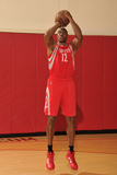 NBA Basketball, Houston Rockets - Dwight Howard in Uniform Photographic Print