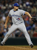 Seattle, WA - July 31: Relief pitcher Steve Delabar Photographic Print