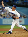 Los Angeles, CA - June 27: Zack Greinke Photographic Print