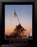Fortitude: Iwo Jima Print by Vito Palmisano