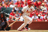 St. Louis, MO - July 6: Carlos Beltran Photographic Print