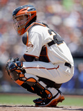 San Francisco, CA - June 05: San Francisco Giants v Toronto Blue Jays, Buster Posey Photographic Print