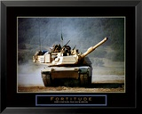 Fortitude: Tank on the Move Plakat autor Jerry Angelica