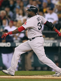Seattle, WA - June 28: David Ortiz Photographic Print