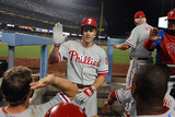 Los Angeles, CA - June 27: Chase Utley Photographic Print