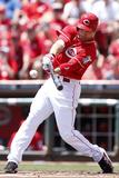 Cincinnati, OH - June 20: Cincinnati Reds v Pittsburgh Pirates, Joey Votto Photographic Print