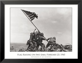 Flag Raising on Iwo Jima, c.1945 Art by Joe Rosenthal