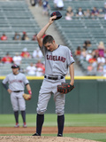 Chicago, IL - Junel 28: Trevor Bauer Photographic Print