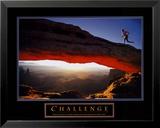 Herausforderung– Läufer Kunst
