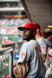 Philadelphia, PA - May 18: Brandon Phillips Photographic Print