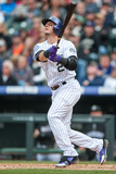 Denver, CO - May 5: Troy Tulowitzki Photographic Print