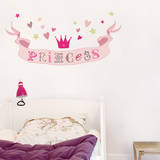 Princess Decorative Wall Stickers Wall Decal