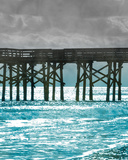 Teal Dock II Pôsters por Jairo Rodriguez