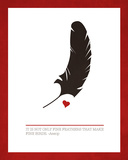Fine Feathers Posters by Addie Marie