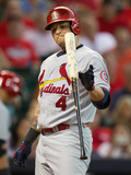 Houston, TX - June 25: Yadier Molina Photographic Print