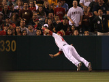 Anaheim, CA - June 21: Los Angeles Angels of Anaheim v Pittsburgh Pirates, Mike Trout Photographic Print