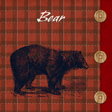 Flannel Bear Prints