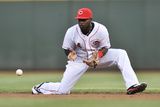 Cincinnati, OH - May 24: Brandon Phillips Photographic Print