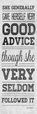 Witty Quote II Art