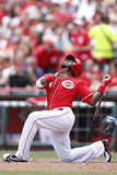 Cincinnati, OH - May 26: Brandon Phillips Photographic Print