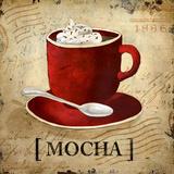 Mocha Posters by Elizabeth Medley