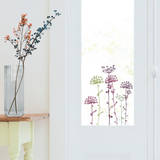 Lace Flowers Window Decal Stickers Window Decal