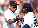 Detroit, MI - June 23: Miguel Cabrera and Prince Fielder Photographic Print