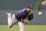 Baltimore, MD - June 27: Starting pitcher Corey Kluber Photographic Print