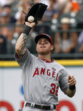 Detroit, MI - June 27: Right fielder Josh Hamilton Photographic Print