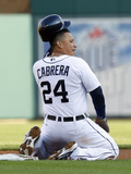 Detroit, MI - June 18: Miguel Cabrera Photographic Print