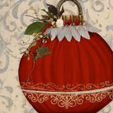 Red Ornament II Affiches par Patricia Quintero-Pinto