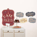 Cafe de Paris Wall Decals Wall Decal