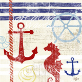 Nautical Breeze II Print by Rebecca Lyon