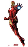 Iron Man - Marvel Avengers Assemble Lifesize Standup Cardboard Cutouts