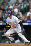 Denver, CO - May 18: Troy Tulowitzki Photographic Print
